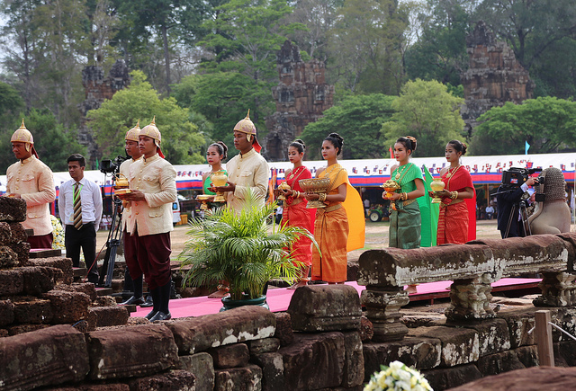 A Royal Ploughing Day ceremony takes place in Siem Reap © US Embassy Cambodia/ Flickr