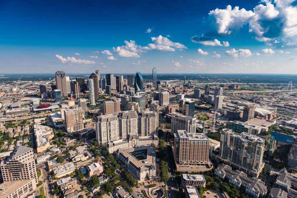 Dallas aerial © Daxis