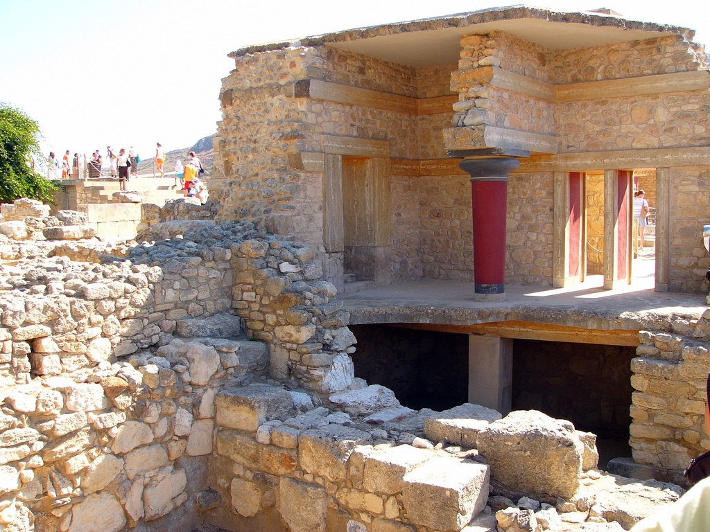 Knossos reconstruction | © Robert Young/ Flickr