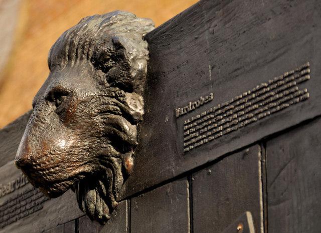 C. S. Lewis Tribute, Belfast   © Albert Bridge/ Flickr