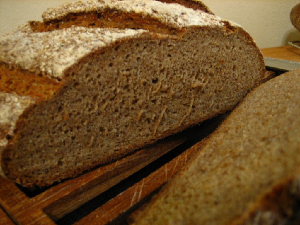 A loaf of German Rye   © crustycrunch / Flickr