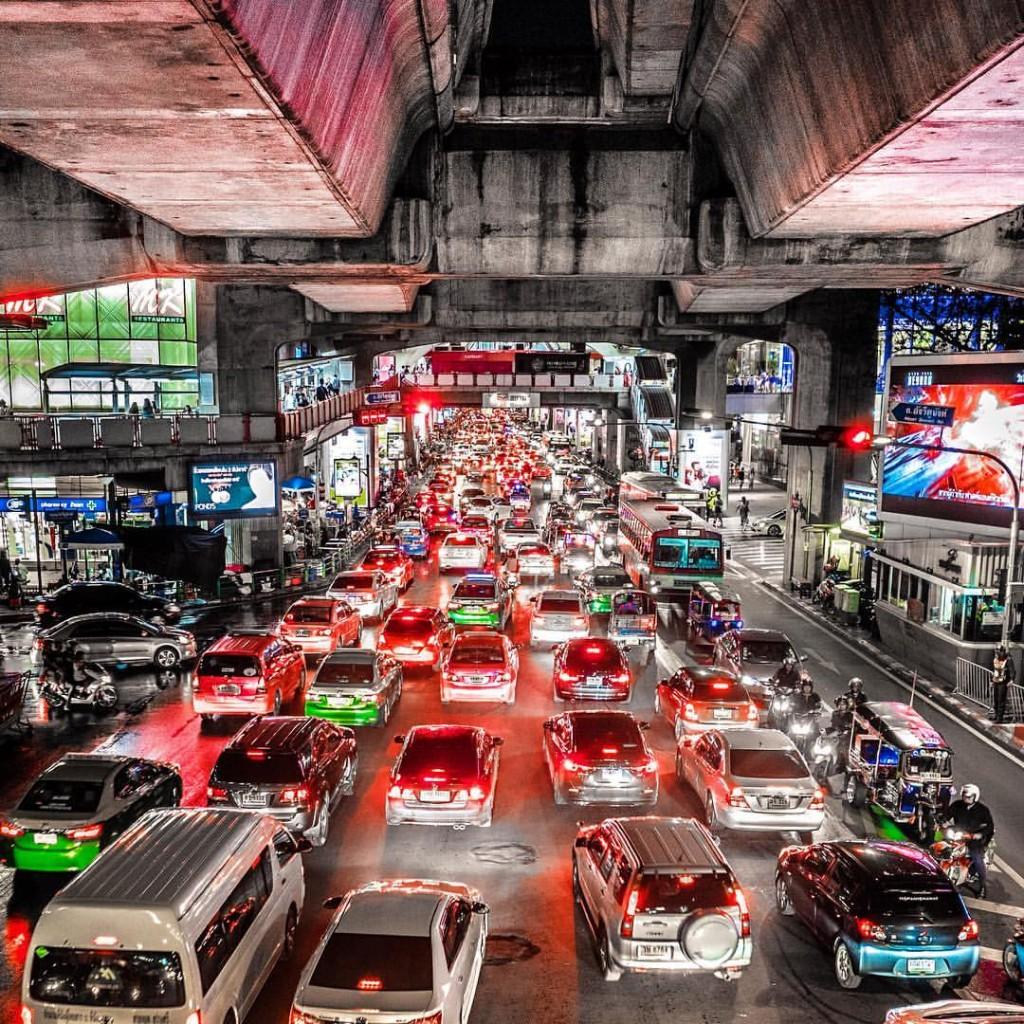 Bangkok Traffic ©Mathieu Cordonnier