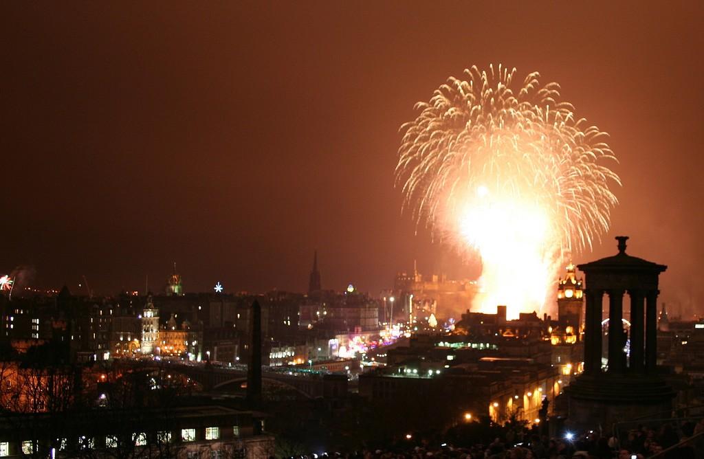 Edinburgh Hogmanay   © Robbie Shade/Flickr