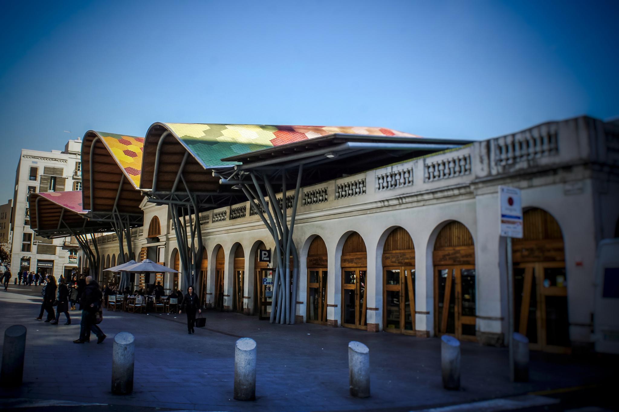 The Santa Caterina market © W & J