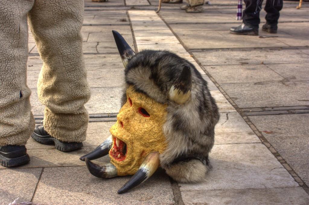 A kukeri mask I © Klearchos Kapoutsis/Flickr
