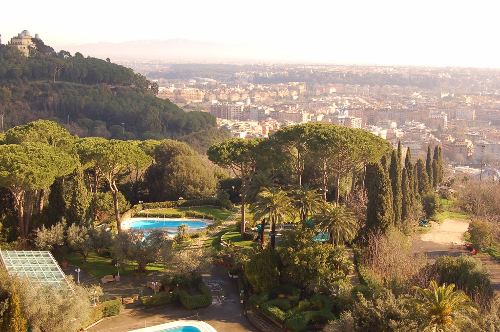 View from the Waldorf Rome Cavalieri | © mattandkim/Flickr
