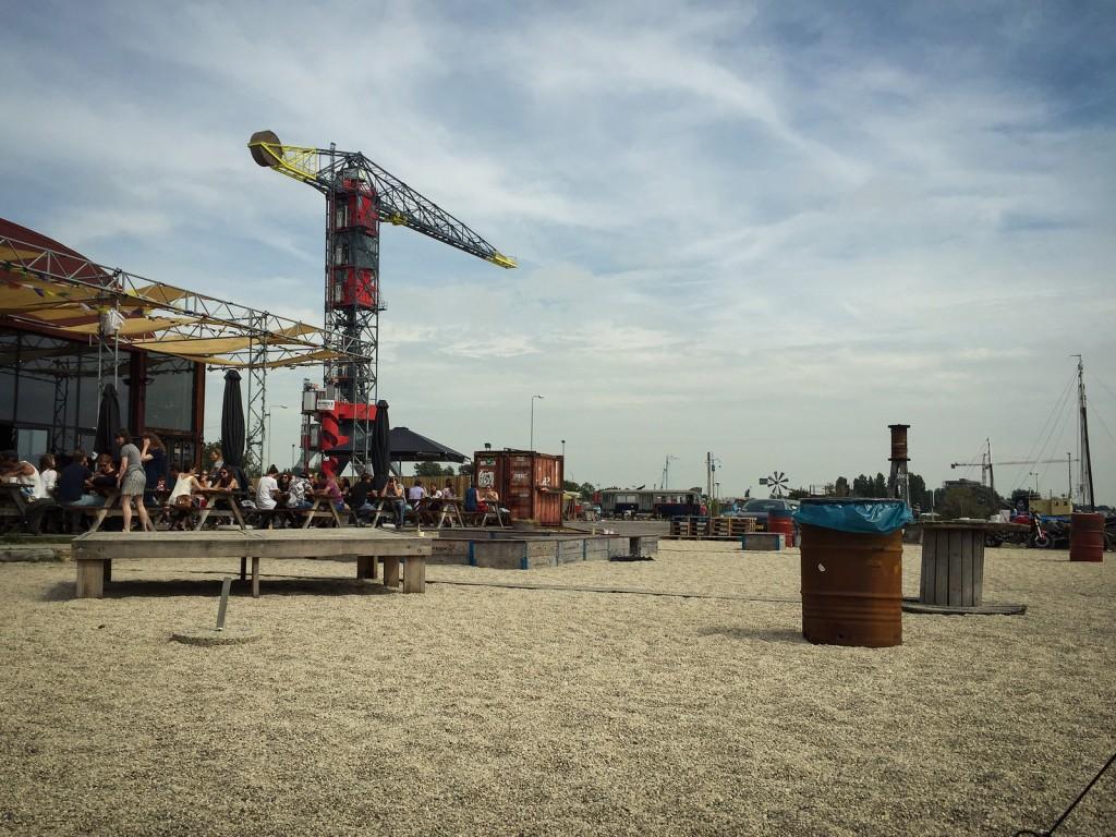 The view from Plekk in Amsterdam-Noord   © Mr. Amsterdam / Flickr