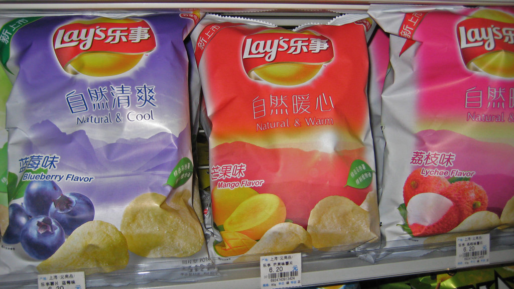 Chinese Lays   ©Tine Steiss/Flickr