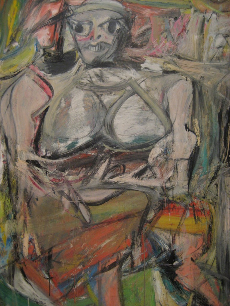 Woman, 1 - Willem de Kooning, MoMA | © missvancamp/Flickr