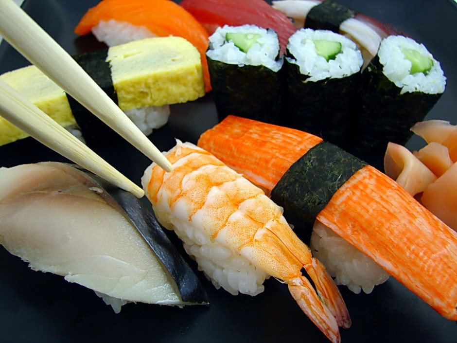 Sushi |© Tony Gladvin George/Flickr