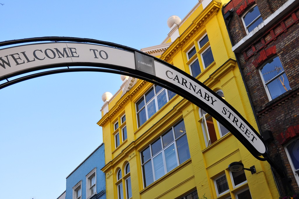 The Carnaby St arch