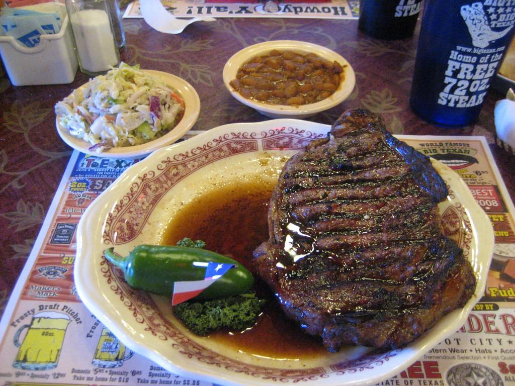 18 oz. steak © Eugene Kim