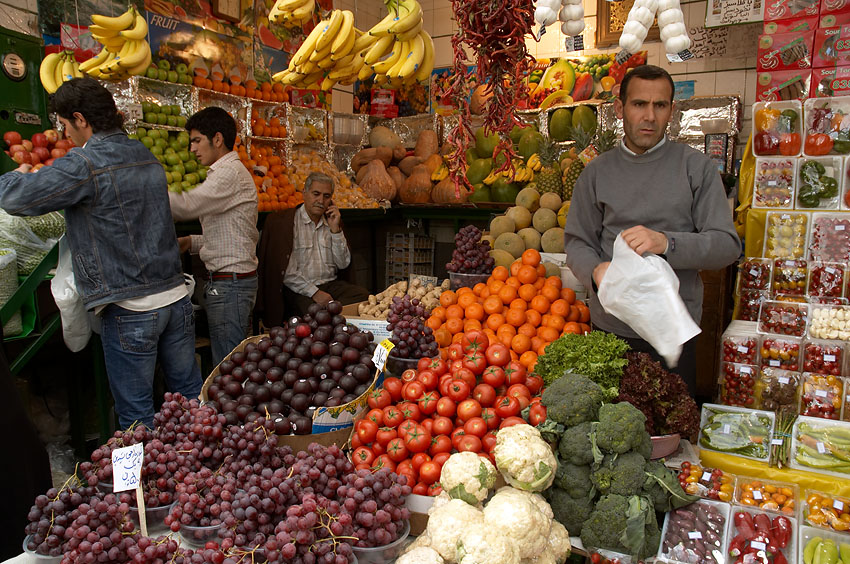 Fresh produce of Tajrish Bazaar | © Kamyar Adl / Flickr