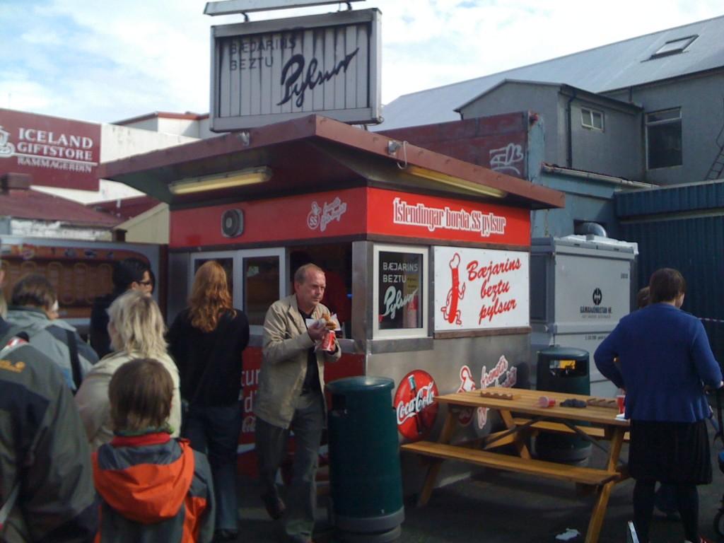 Baejarins Bestu hot dog stand | © Guðmundur Bjarni Ólafsson / Flickr