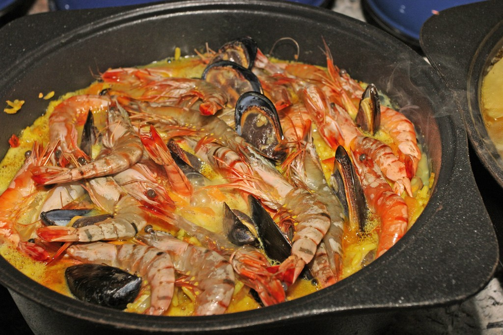 West Coast prawns made South African style © South African Tourism / Flickr