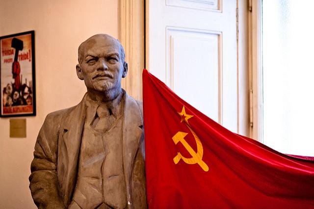 Lenin was never too far away during Communist days / ©Mark Surman / Flickr