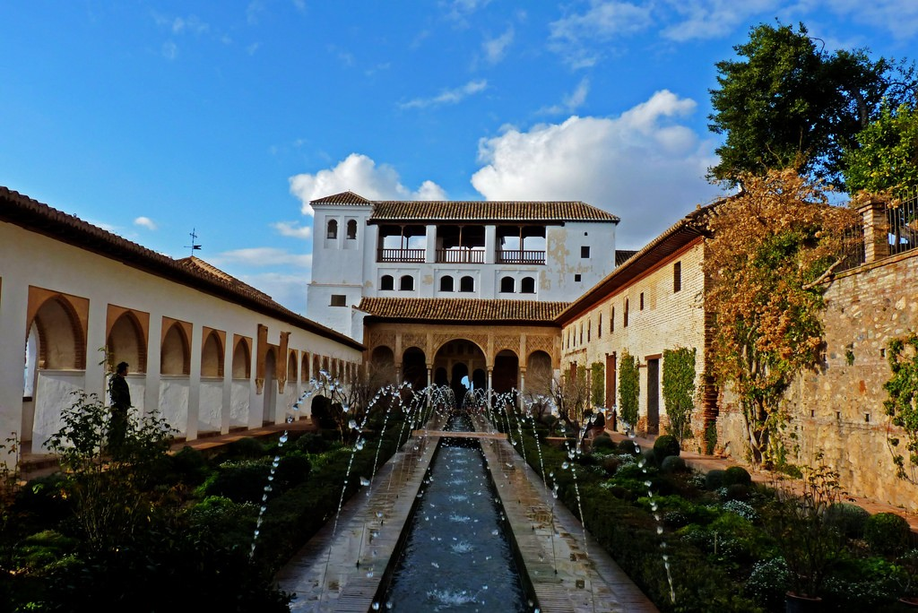The Generalife, or summer palace, in the Alhambra; Miltos Gikas, flickr