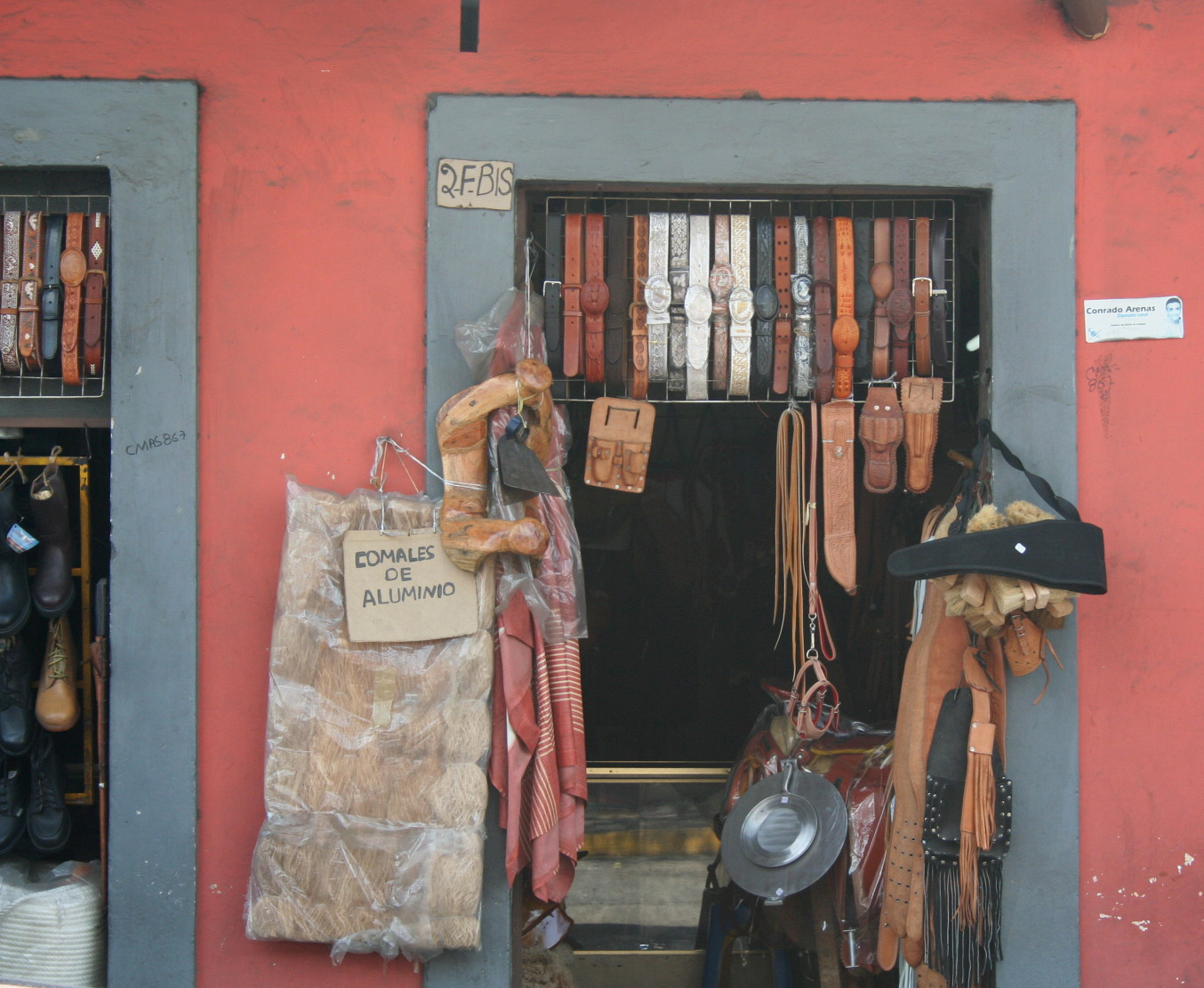 Leather goods   © Felicity Rainnie/Flickr