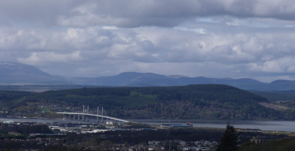 Inverness and Ben Wyvis View | © Dave Conner/Flickr