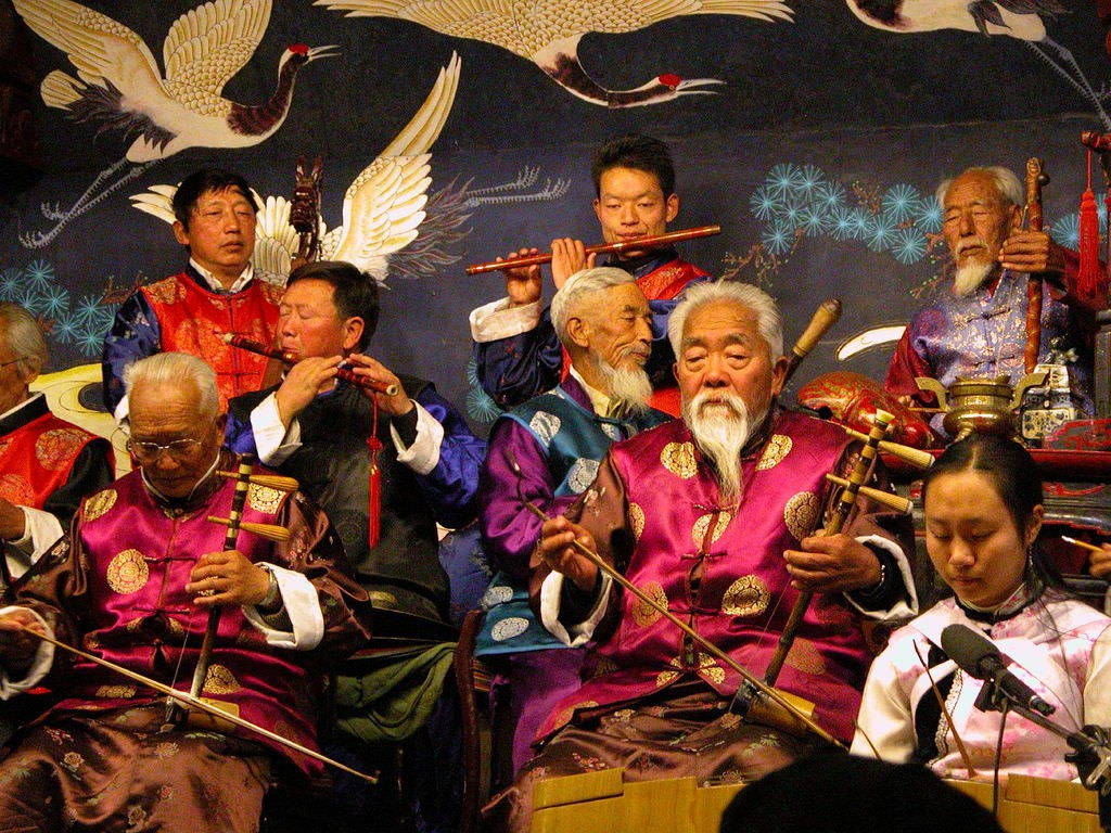 Naxi Musicians I|©Peter Morgan/Flickr