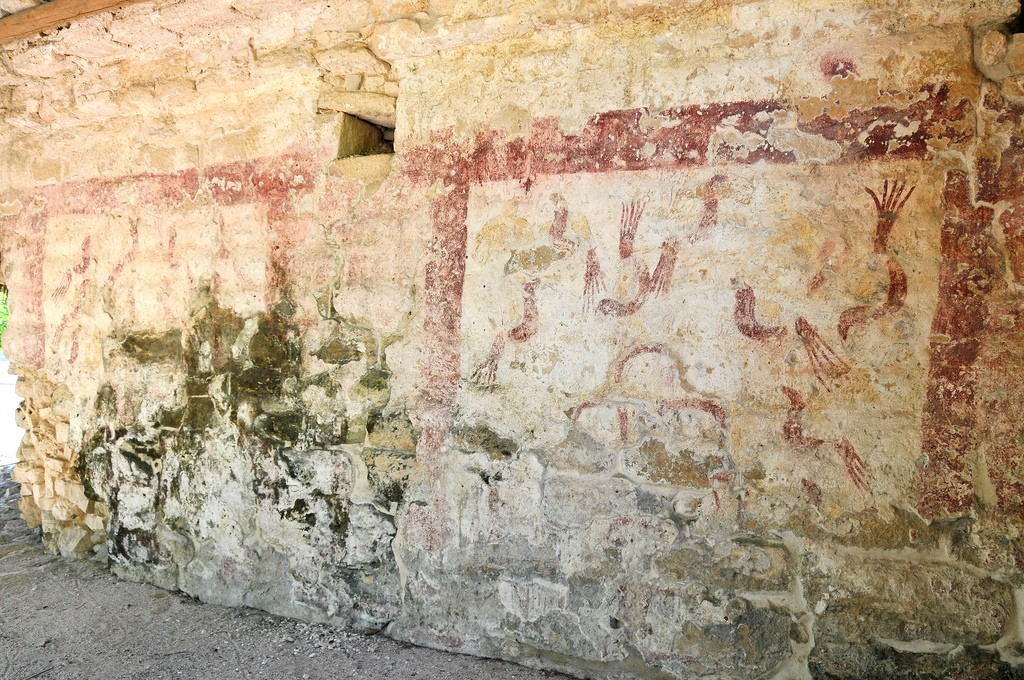 5 Must-Visit Mayan Ruins Near Cancun, Xel-Ha Writing on the Wall | © Dennis Jarvis/Flickr