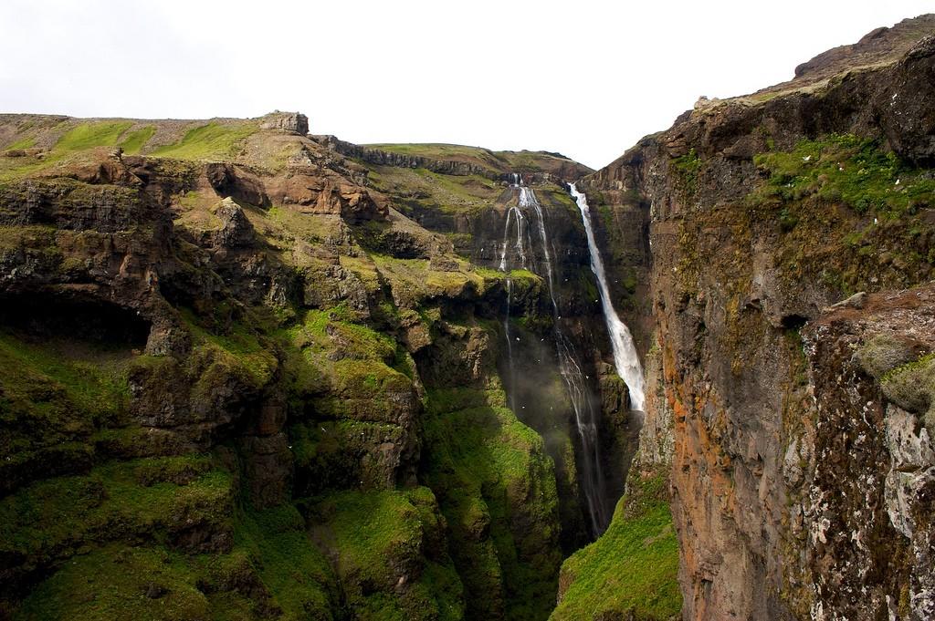 Glymur waterfall | © Matito - Flickr