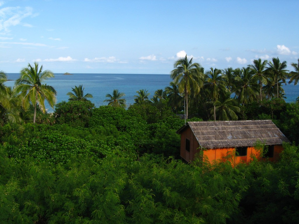 The view out to sea from Mantaray Island Resort | © Hector Garcia / Flickr