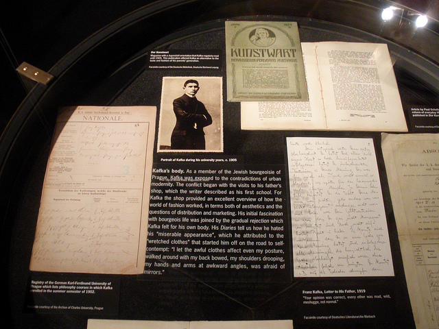 Original Kafka manuscripts and letters / ©Nico Paix / Flickr
