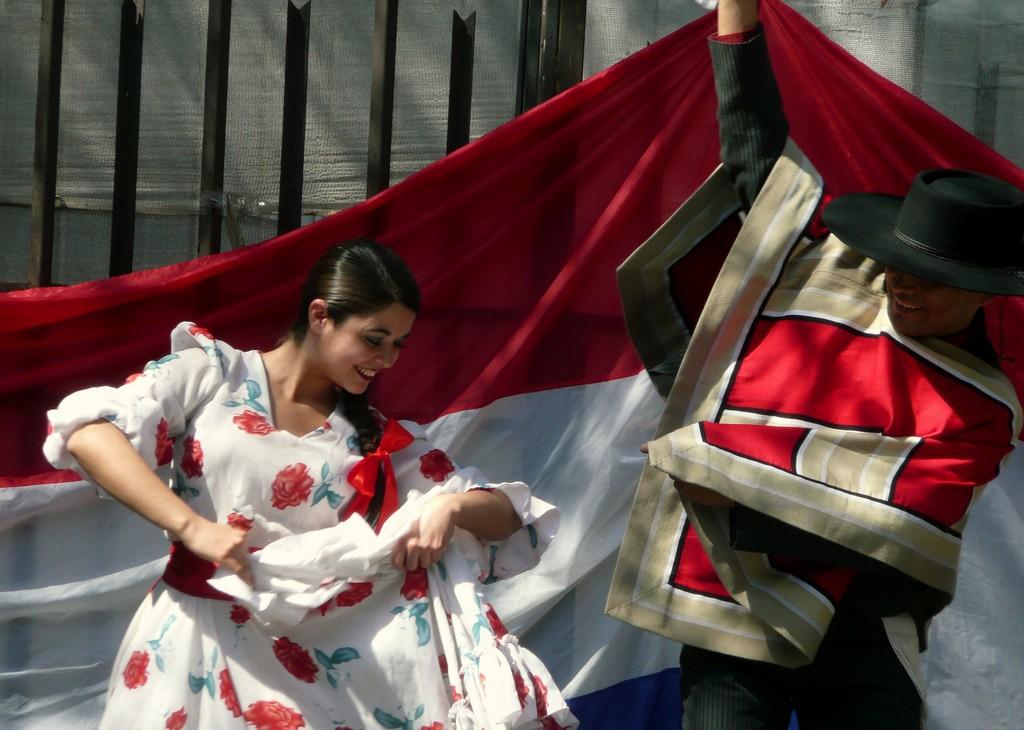 Cueca chilena © Eduardo Zárate