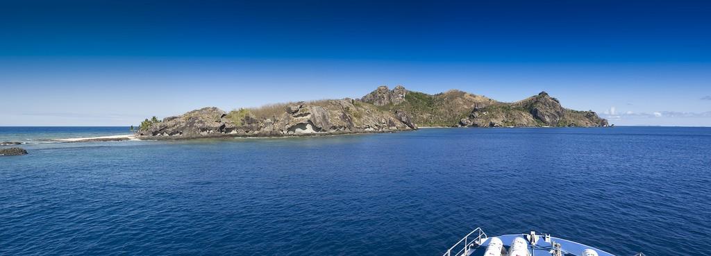 View from the Yasawa Flyer, Fiji | © Thomas Huxley / Flickr