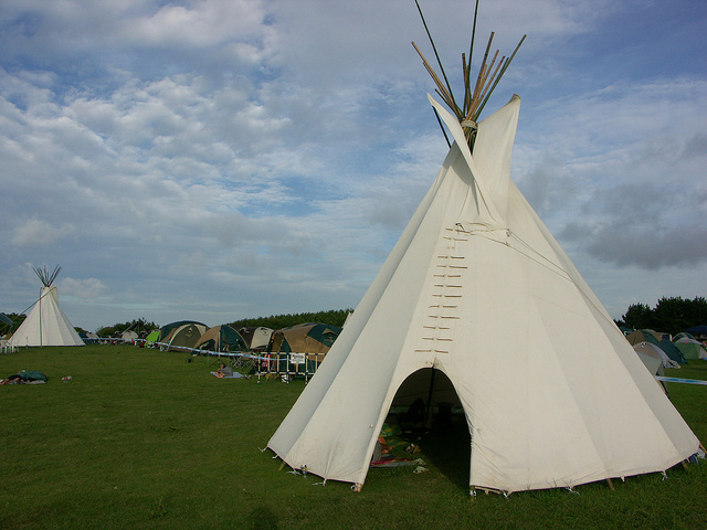Teepees bring a whole new dimension to camping / ©Christopher Johnson / Flickr