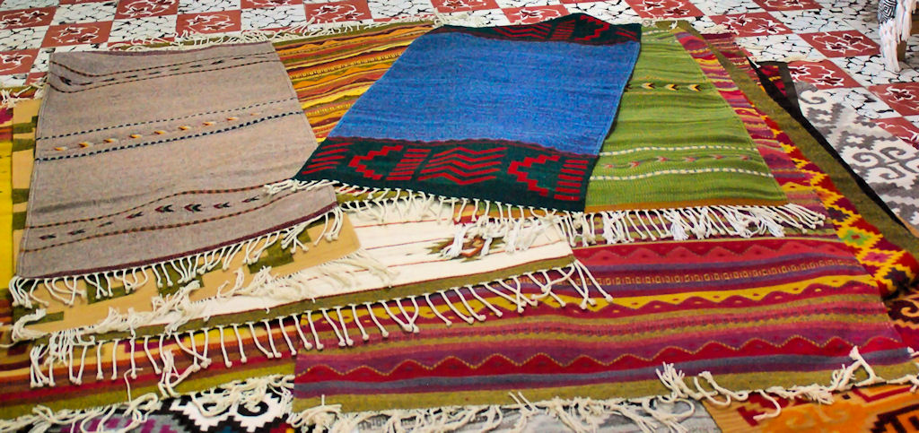 Rugs from Teotitlán   © Byron Howes/Flickr