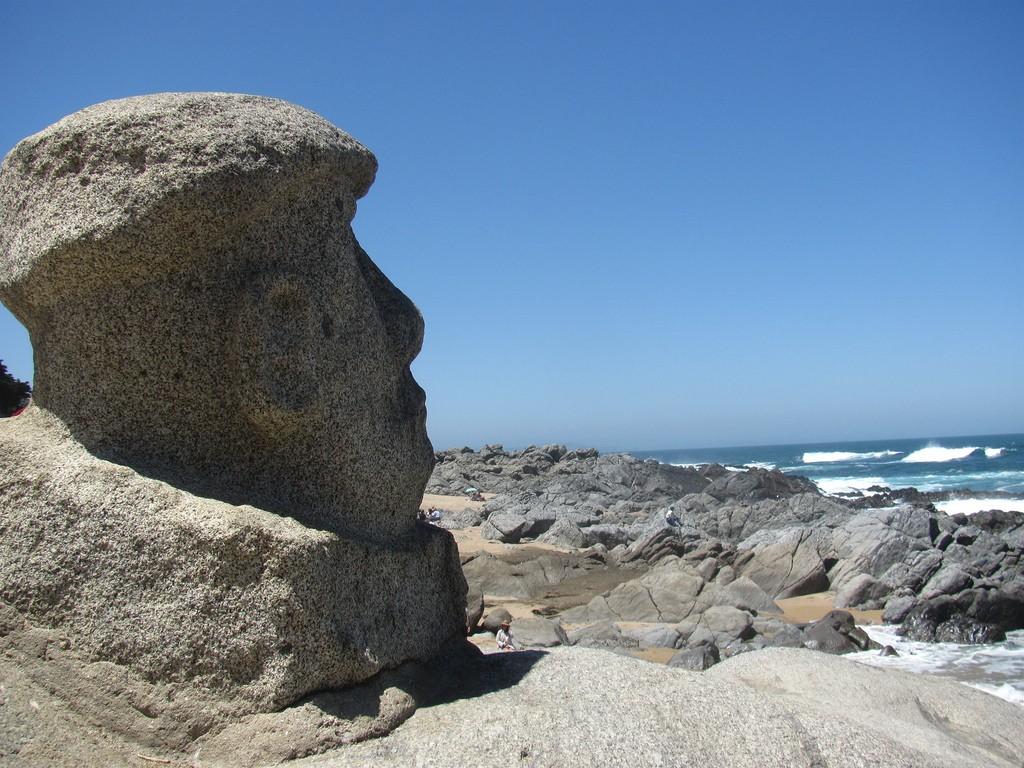 Neruda on the rocks © G B