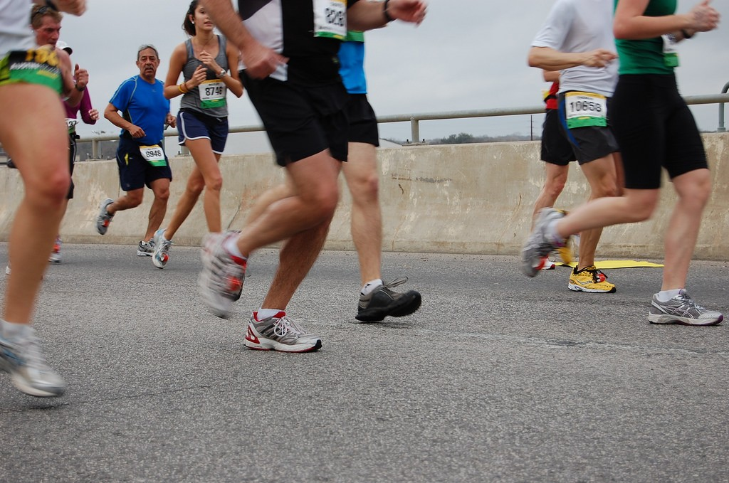 Runners in Austin © Bonnie Ann Cain-Wood