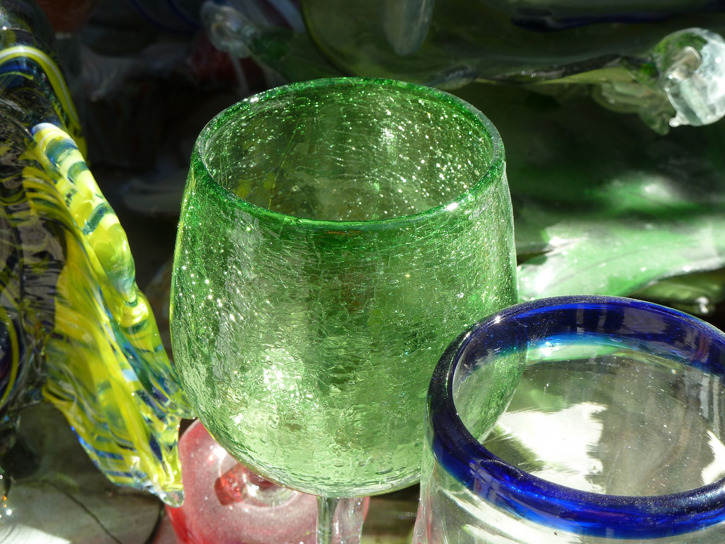 Hand blown glass from Mexico   © minnemom/Flickr