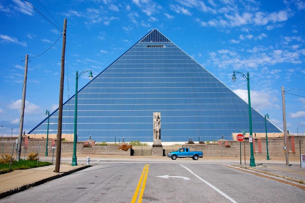Memphis pyramid © sawdust_media