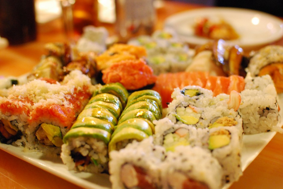 Sushi selection |© slgckgc/Flickr