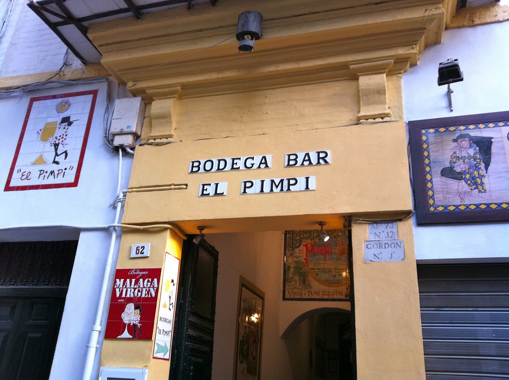 El Pimpi, Malaga´s most famous and best-loved restaurant; Andrew Nash, flickr