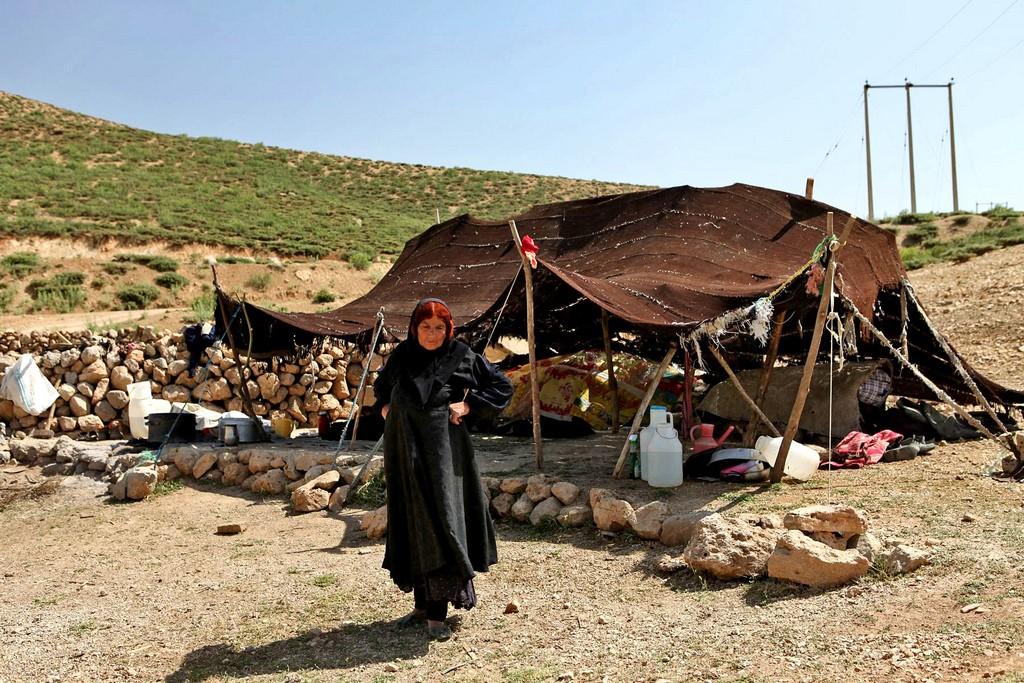Bakhtiari nomadic home | © Ninara / Flickr