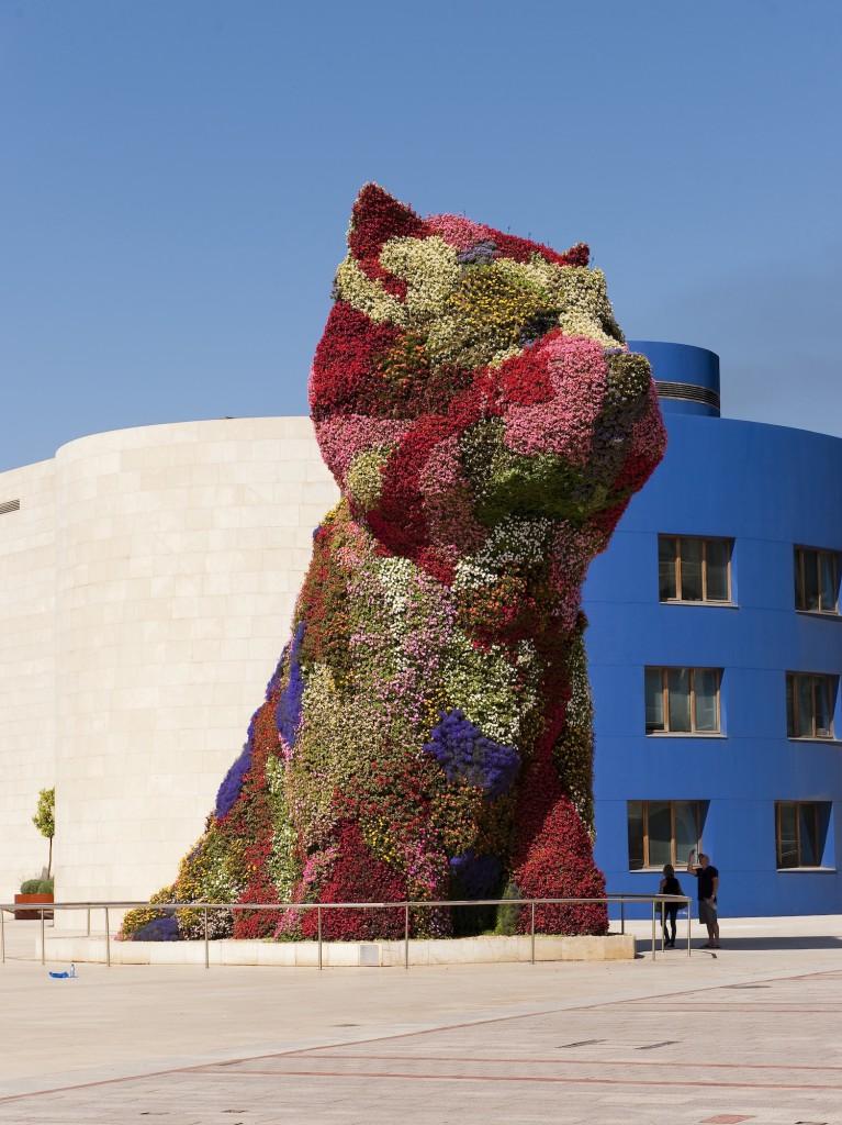 Puppy by Jeff Koons   Guggenheim Museum Bilbao