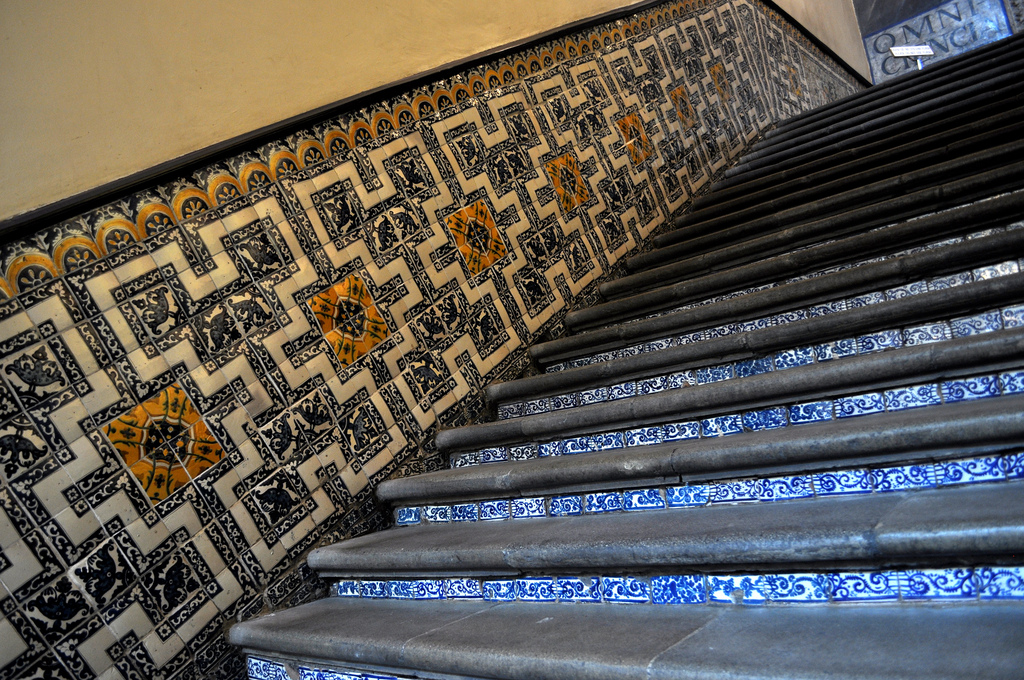 Tiled floors make an impact in any room   © katiebordner/Flickr