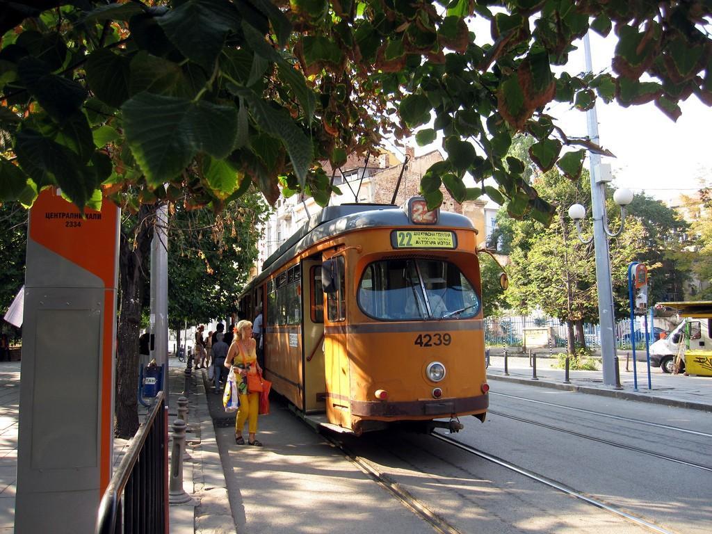 A tram in Sofia | © (rinse) / Flickr