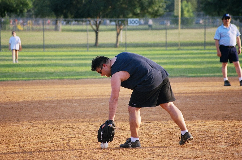 Softball in Austin © Mark Scott Austin TX