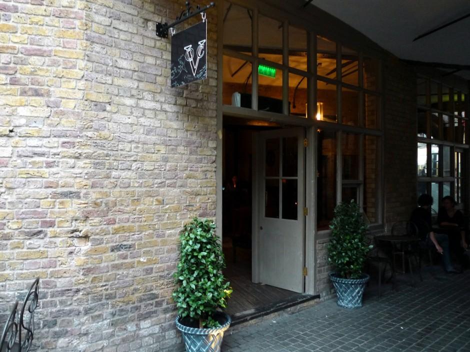 The outside of VOC King's Cross