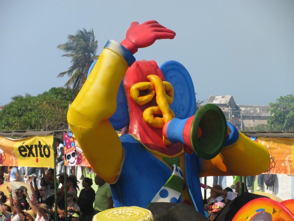The marimonda brings a good deal of goofy fun | © Michele Mariani/ Flickr