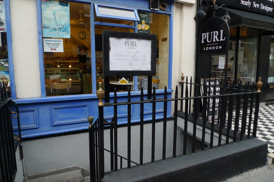 The outside of Purl