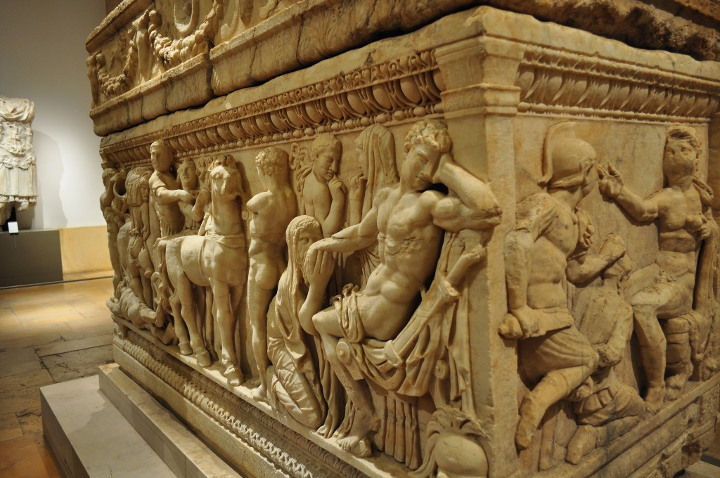 [Sarcophagus, National Museum of Beirut] | © [Caroline Granycome]/[source, Flickr]