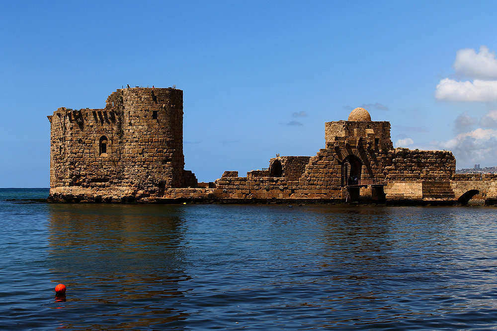 [Sidon Sea Castle] | © [Rabiem22]/[source, Flickr]