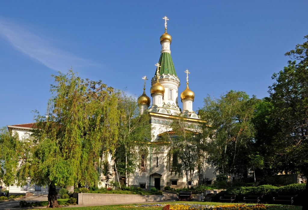 The Russian Church in Sofia I © Dennis Jarvis/Flickr