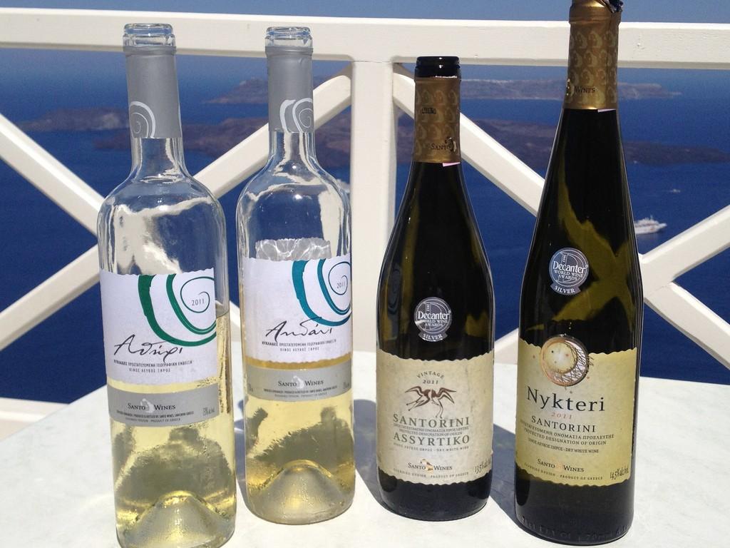 White Wines of Santorini  © Jameson Fink/Flickr